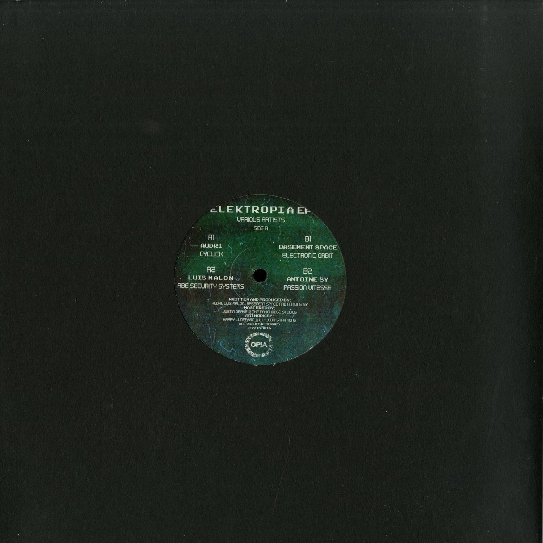 Various Artists - ELEKTROPIA EP