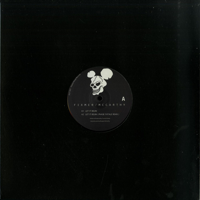 Fixmer / McCarthy - LET IT BEGIN EP