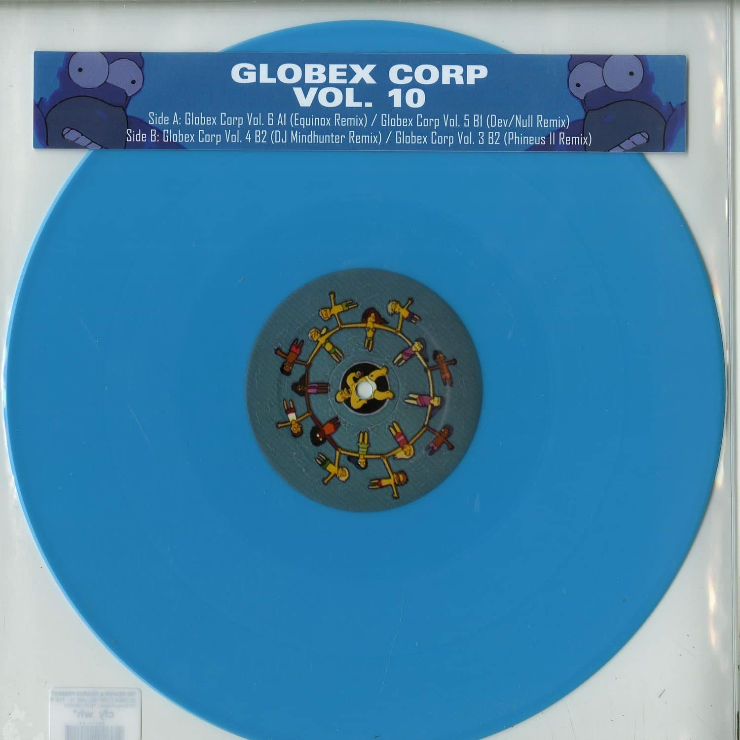Tim Reaper & Dwarde Present - GLOBEX CORP VOLUME 10 - THE REMIXES