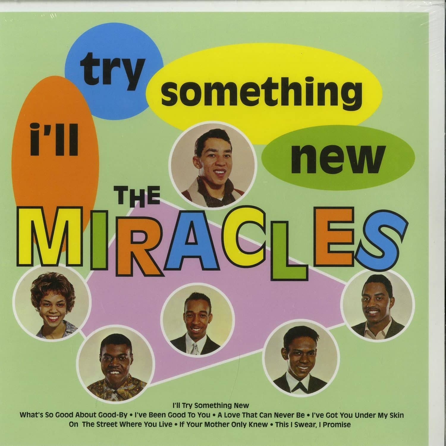 The Miracles - I LL TRY SOMETHING NEW
