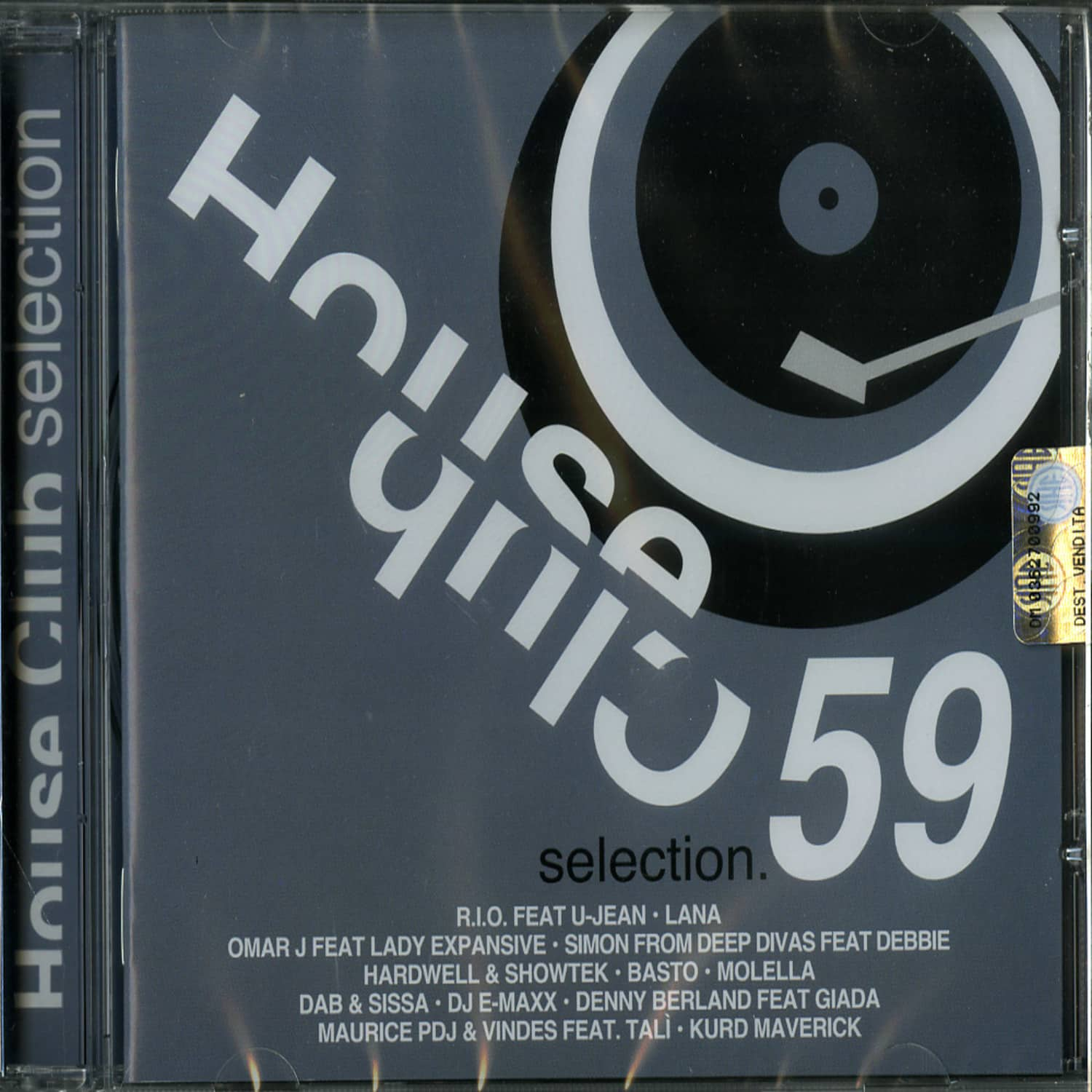 Various Artists - HOUSE CLUB SELECTION 59