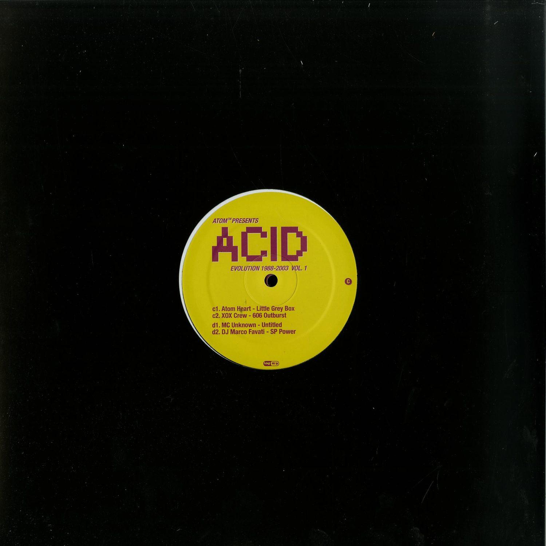 Atom Heart - ACID EVOLUTION 1988 - 2003 VOL.1