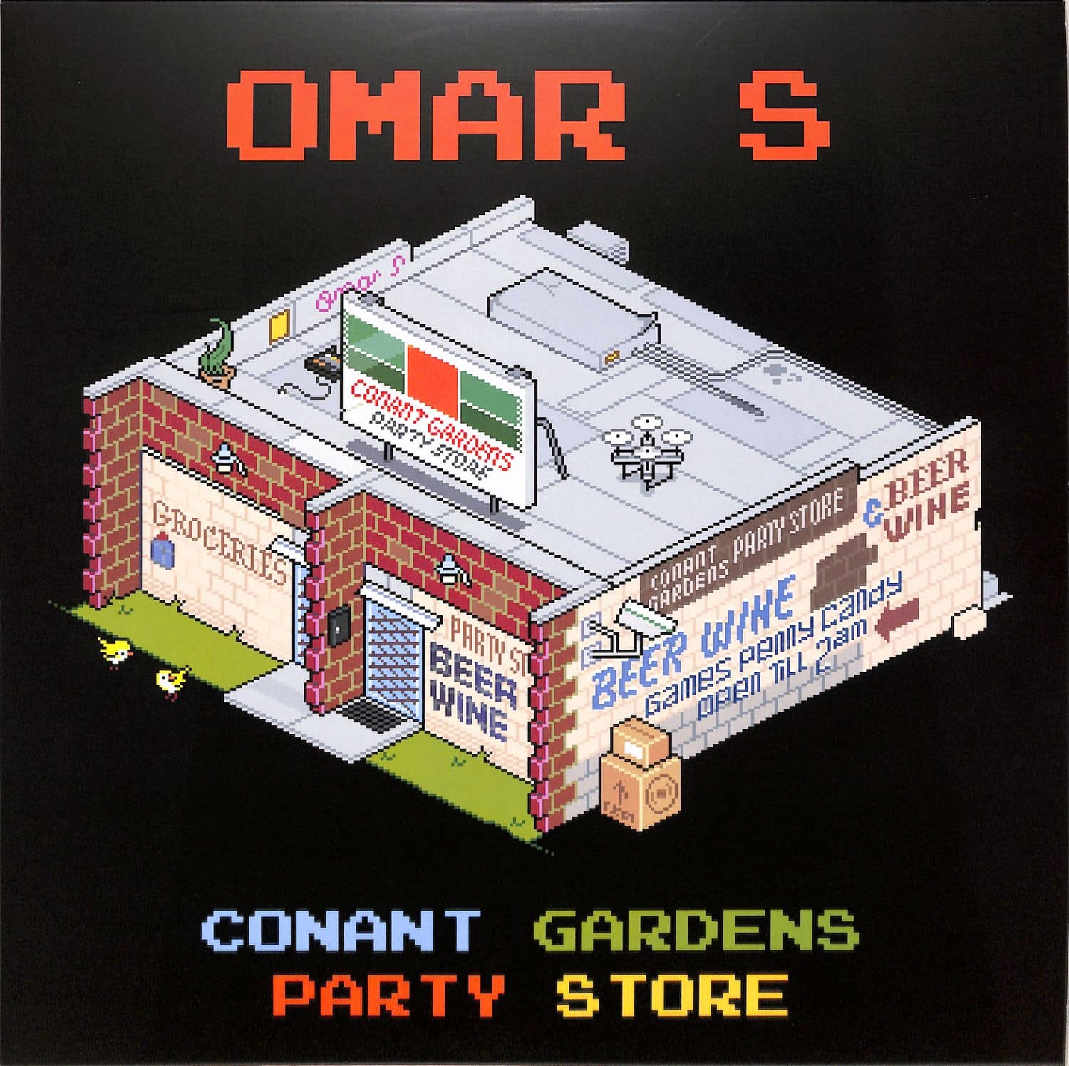 Omar S - RECORD PACKER SOUNDTRACK PART TWO