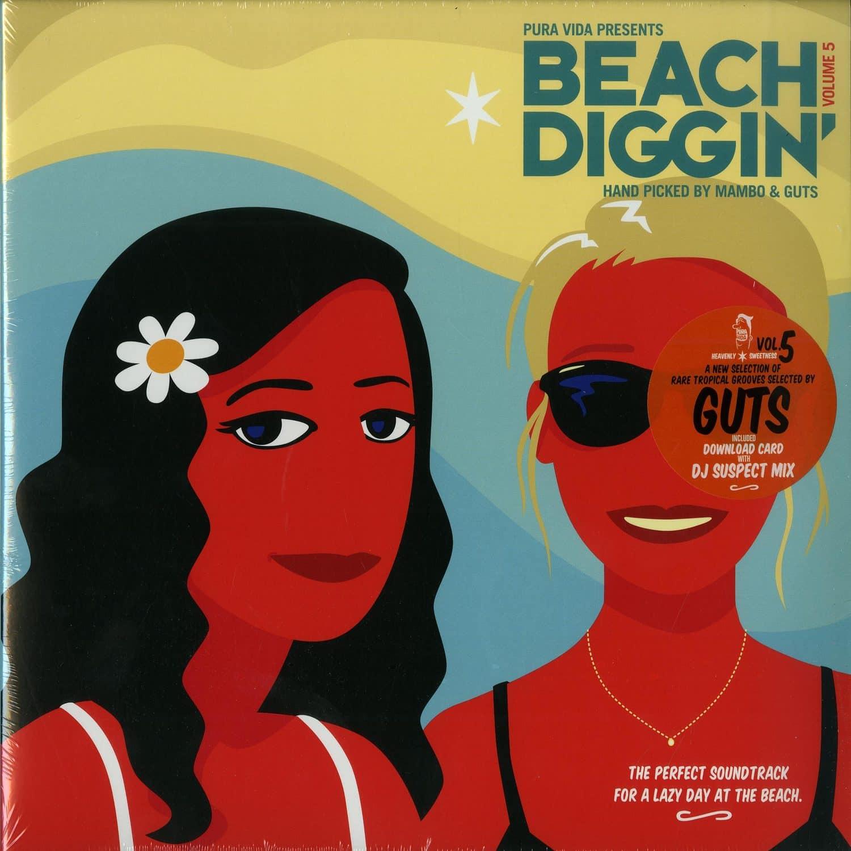 Various Artists - BEACH DIGGIN VOL. 5 BY GUTS & MAMBO