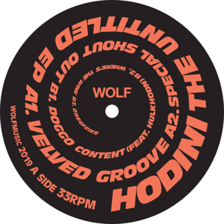 Hodini - THE UNTITLED EP
