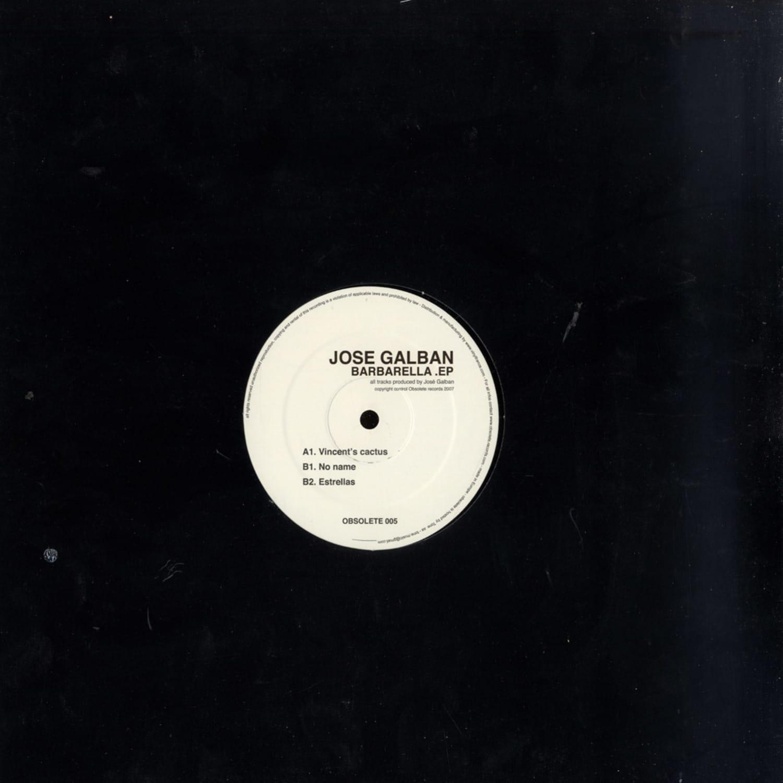 Jose Galban - BARBARELLE EP