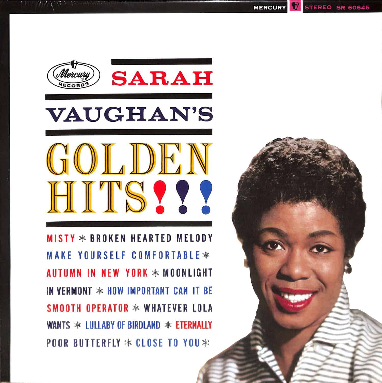 Sarah Vaughan - GOLDEN HITS