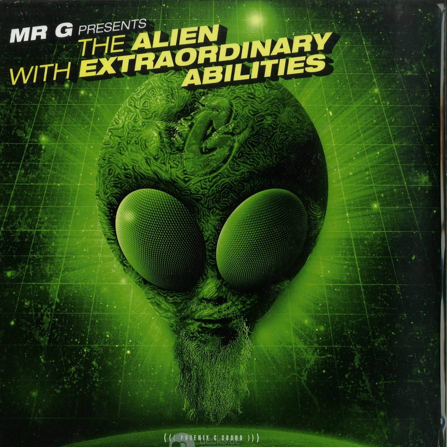 Mr. G - THE ALIEN WITH EXTRAORDINARY ABILITIES