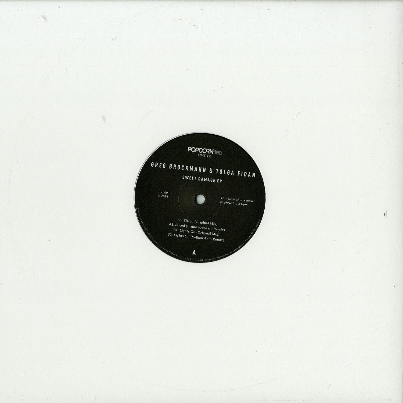 Greg Brockmann & Tolga Fidan - SWEET DAMAGE EP