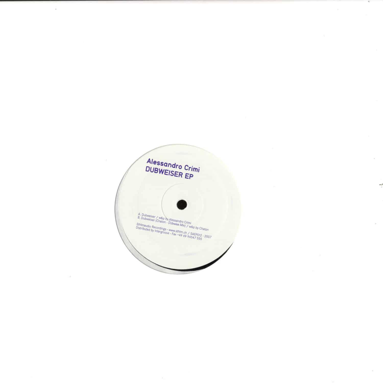 Alessandro Crimi - DUBWEISER EP