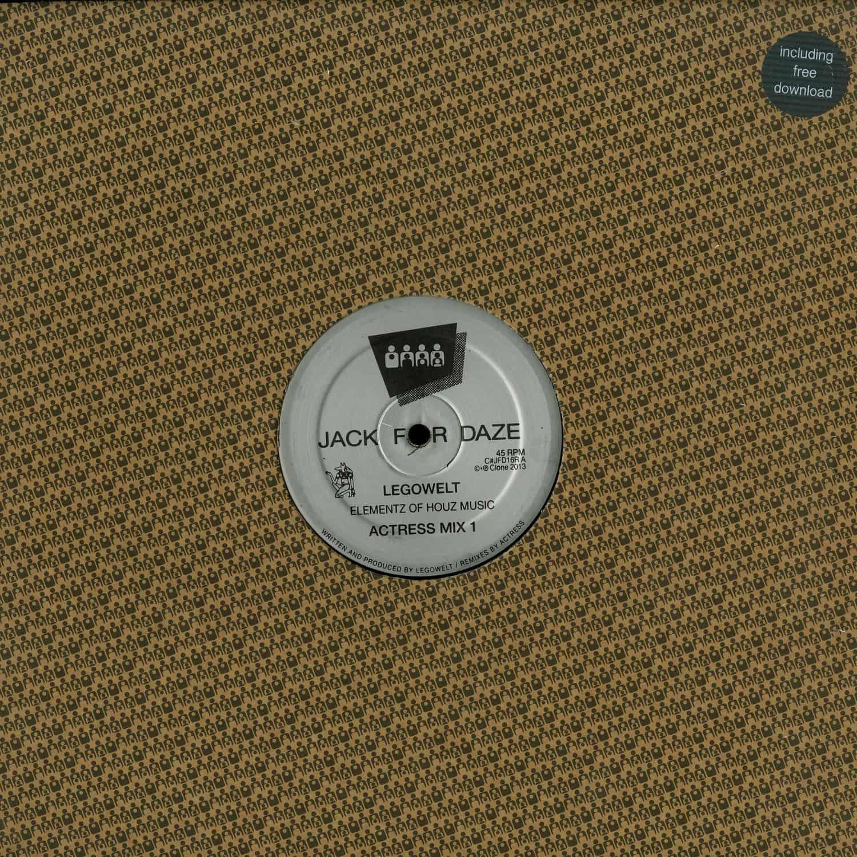 Legowelt - ELEMENTZ OF HOUZ MUSIC