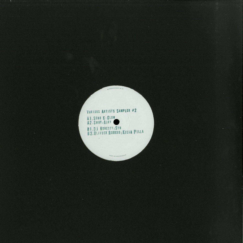 Sebo K / Swoy / DJ Honesty / Olivier Romero - VARIOUS ARTISTS SAMPLER 2