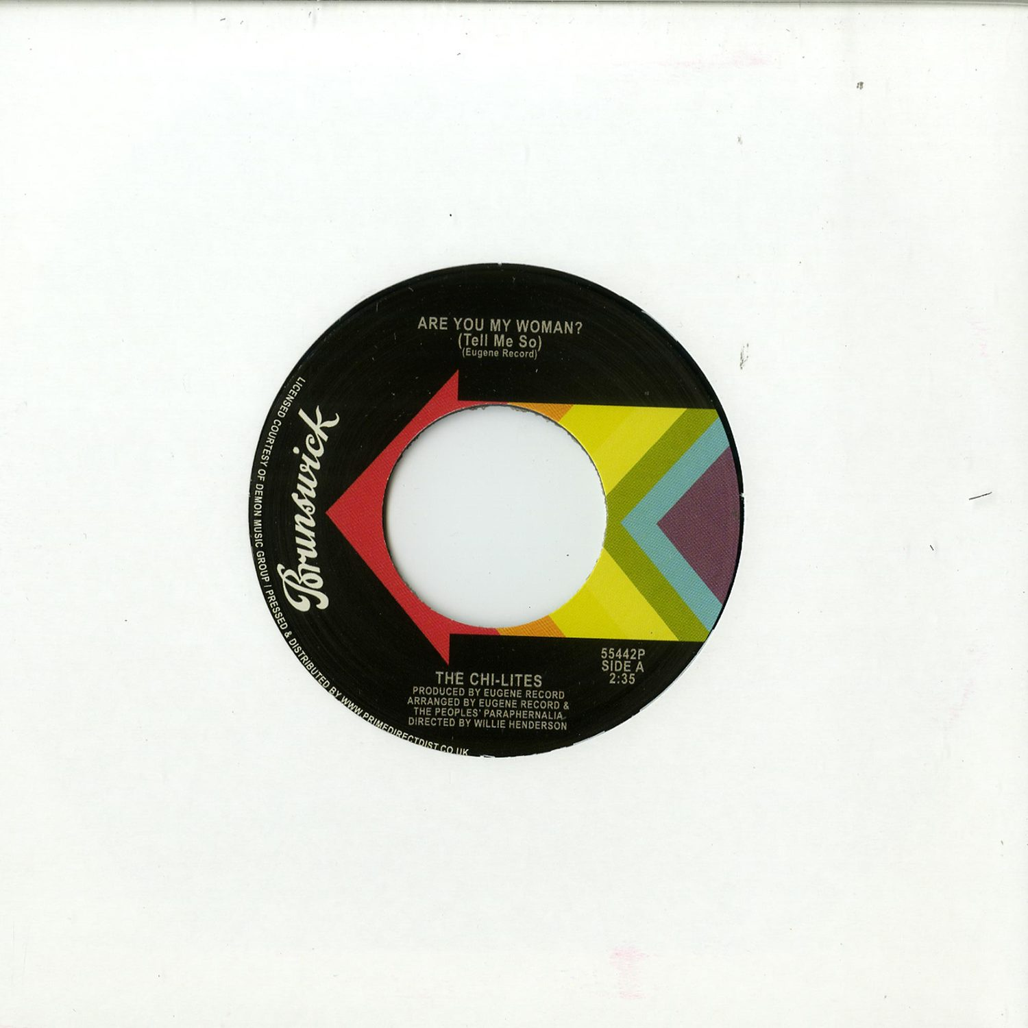 The Chi-Lites - ARE YOU MY WOMAN