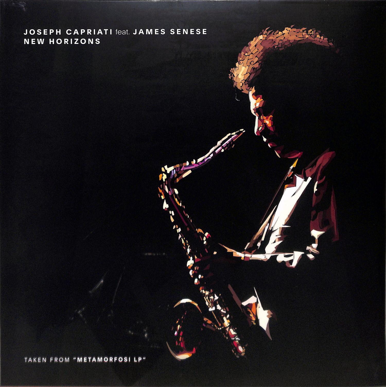 Joseph Capriati feat James Senese - NEW HORIZONS
