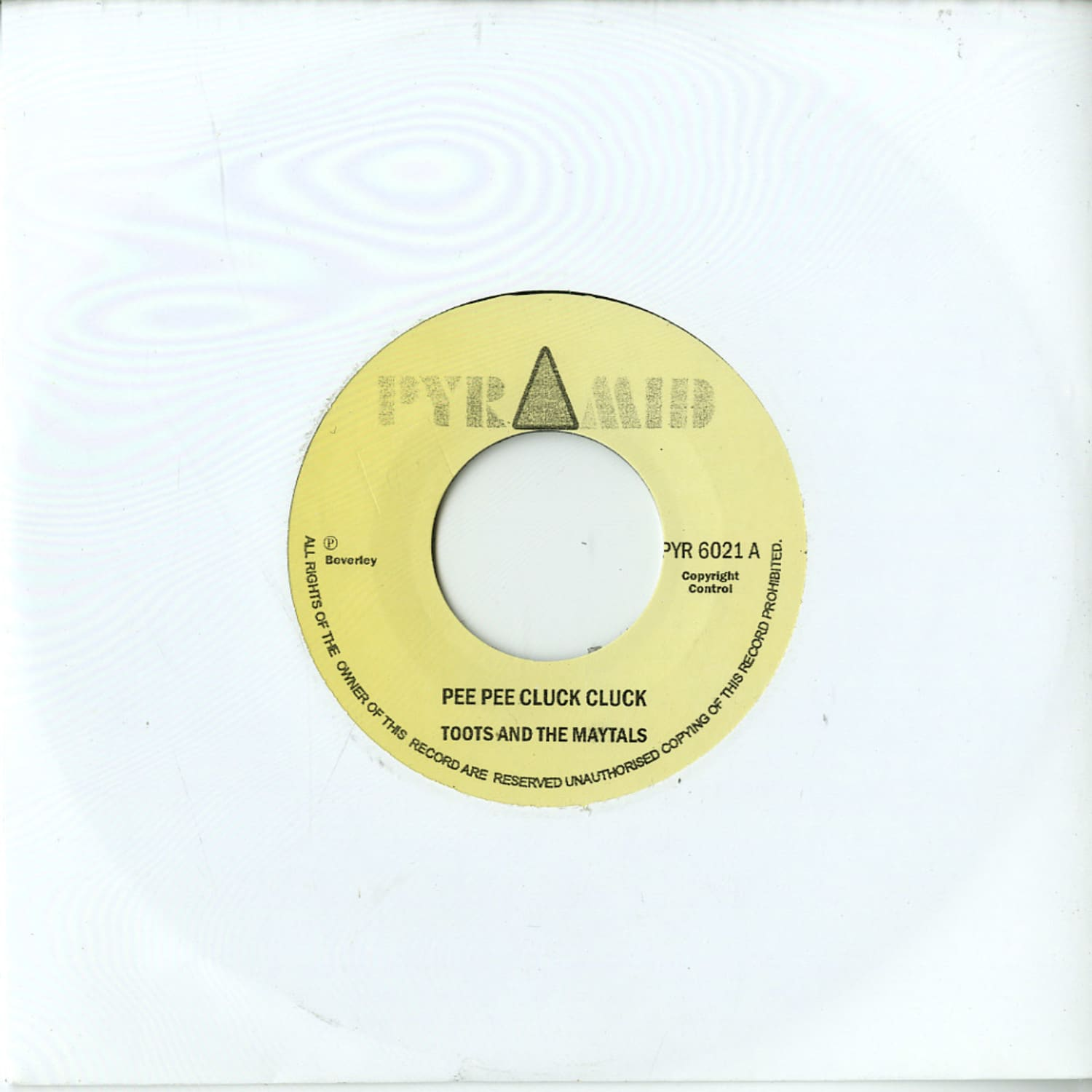 Toots & The Maytals / Beverleys All Stars - PEE PEE CLUCK CLUCK / THE MONSTER