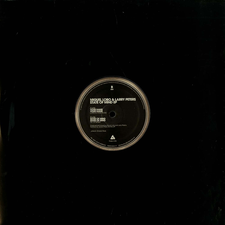 Miguel Lobo & Larry Peters / Jordan Peak / Re-Up - STATE OF MIND EP