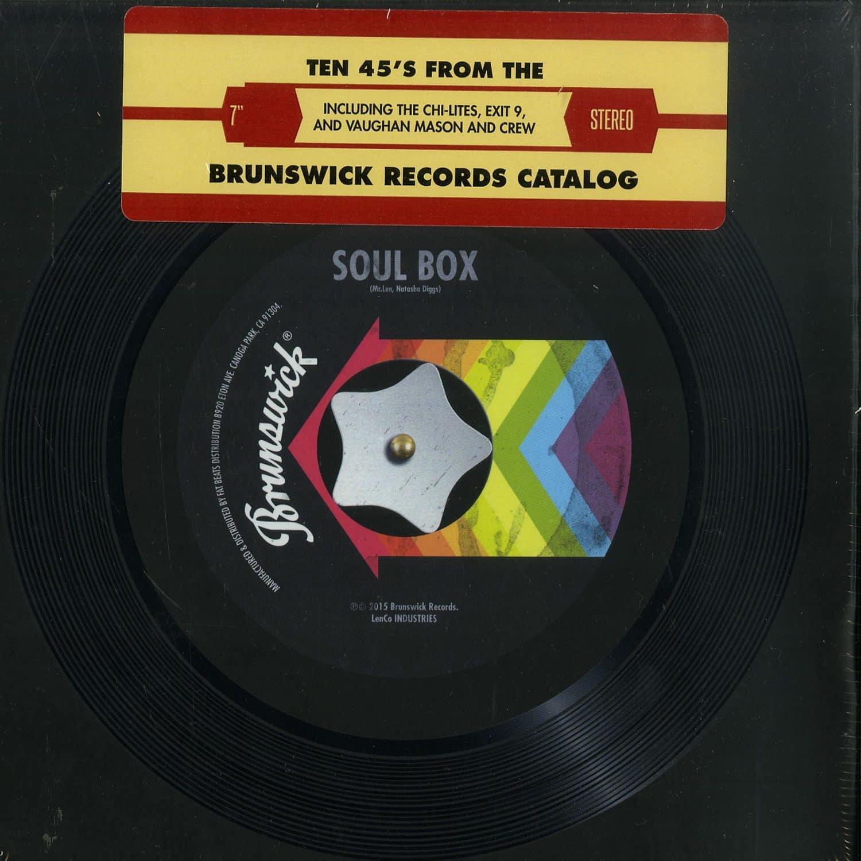 Various - BRUNSWICK SOUL BOX