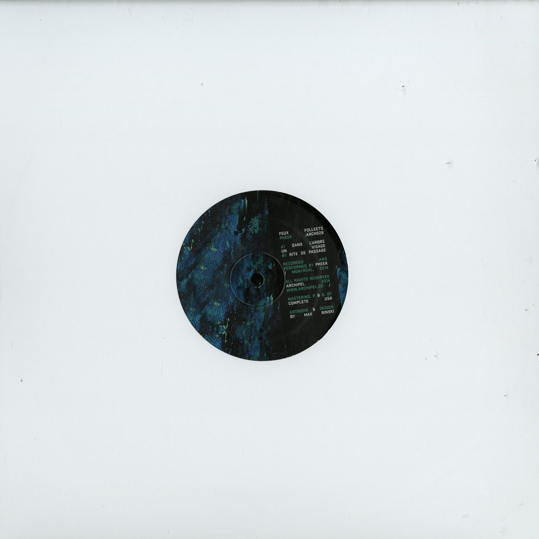 Pheek - FEUX FOLLETS EP