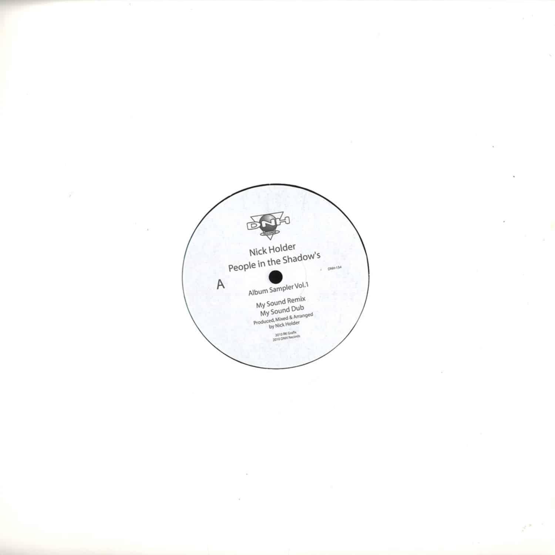 Nick Holder - People In The Shadows - ALBUM SAMPLER VOL.1