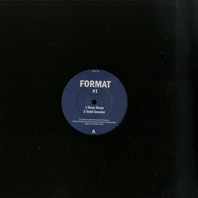 Format aka Orlando Voorn - FORMAT VOL.1