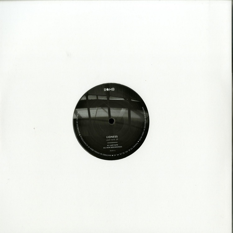 Lioness - LAST NITE EP