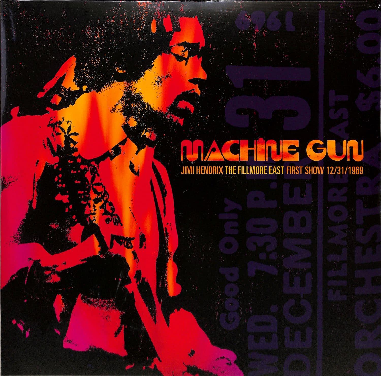 Jimi Hendrix - MACHINE GUN - THE FILLMORE EAST SHOW