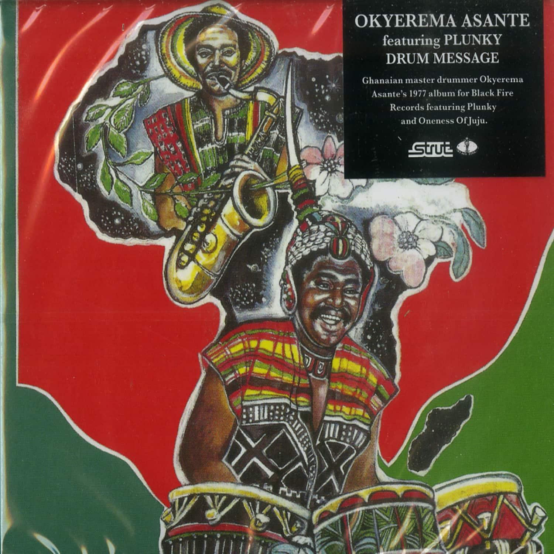 Okyerema Asante - DRUM MACHINE