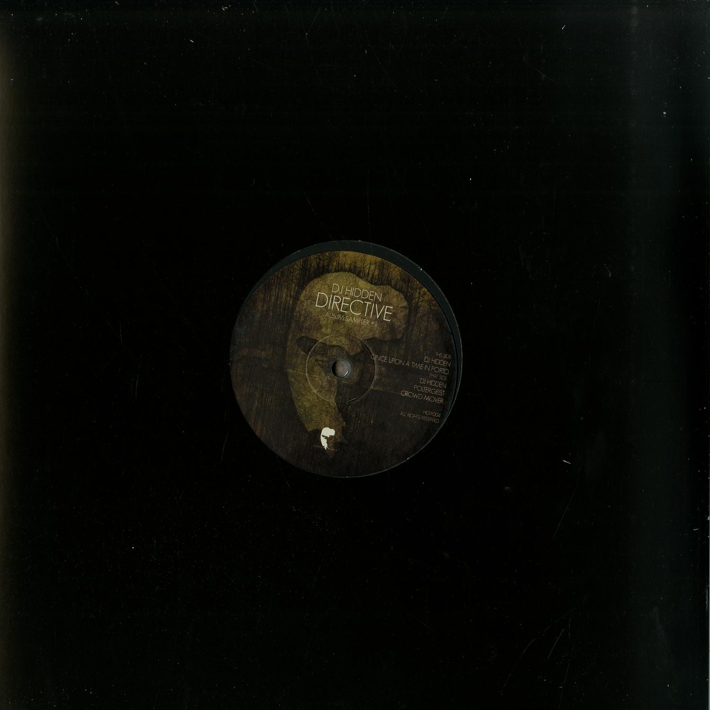 DJ Hidden - DIRECTIVE ALBUM SAMPLER 1 & 2