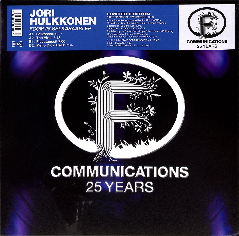 Jori Hulkkonen - F COM 25 REMASTERED SELKARAASI EP
