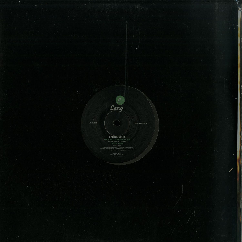 Earthboogie - MR MYSTERY EP