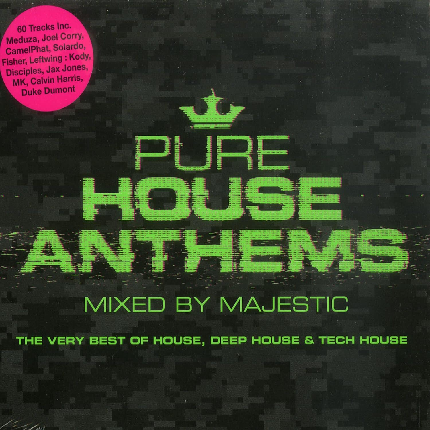 Various Artist - PURE HOUSE ANTHEMS MIXED BY MAJESTIC