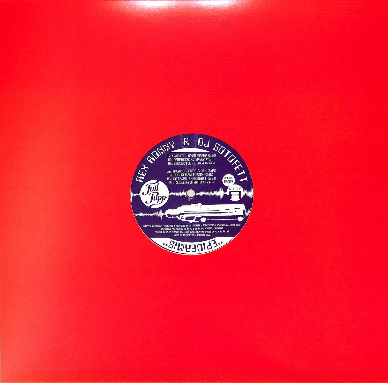 Rex Ronny and DJ Sotofett - EPIDERMIS