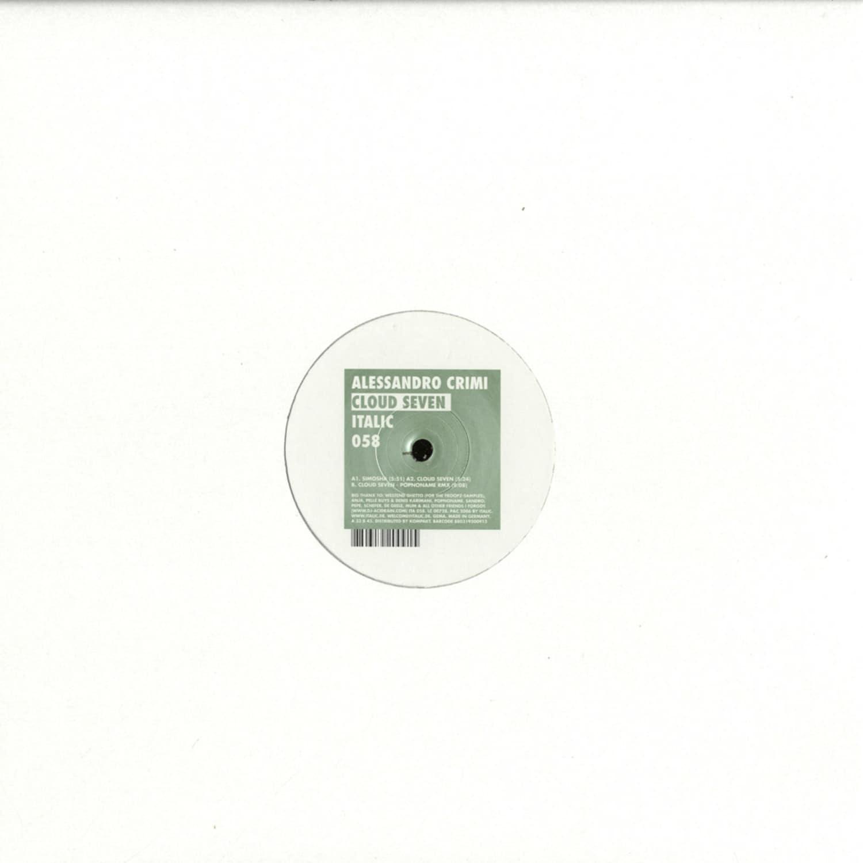 Alessandro Crimi - CLOUD SEVEN
