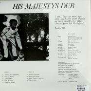 HIS MAJESTYS DUB (LP)