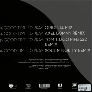 Back View : Trickski ft. Ernesto - GOOD TIME TO PRAY (BOMAN / TRAGO / SOUL MINORITY RMXS) - Suol / Suol030-6