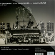 Back View : Art Department, Blud & Shaun Reeves feat. Damian Lazarus - ROBOT HEART - No.19 Music / NO19029