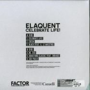 Back View : Elaquent - CELEBRATE LIFE! - Urbnet / urbnet1237