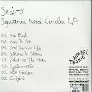 Back View : SCSI-9 - SQUARES AND CIRCLES (2LP,180 G VINYL) - Apparel Tronic / APLTRONIC008