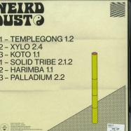 Back View : Weird Dust - TRIBES 1.1 - Crevette Records / CREV003