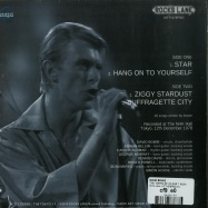 Back View : David Bowie - THE TOKYO EP (CLEAR 7 INCH) - Rocks Lane / KITTY27EP003-CN