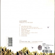 Back View : Luciano - TRIBUTE TO THE SUN (CD+DVD) - Cadenza / CADCD05