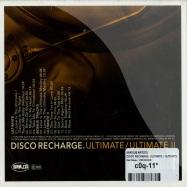 DISCO RECHARGE: ULTIMATE / ULTIMATE II (CD)