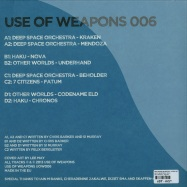 Back View : Deep Space Orchestra / Other Worlds / 7 Citizens / Haku - USE OF WEAPONS 6 (2X12 LP) - Use Of Weapons / UOW 006