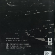 Back View : Architectural - A GIRL WITH NO FRIENDS EP - Ellum Black / ELLB002