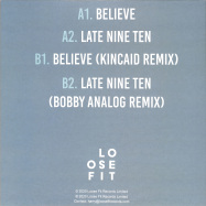 Back View : Jordan - BELIEVE - Loose Fit Records / LOOSEFIT004