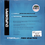 Back View : Quadran - ETERNALLY / FREE YOUR MIND (BLUE COLOURED 7 INCH) - BONZAI CLASSICS / BCV2020015
