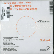 Back View : Elori Saxl - THE BLUE OF DISTANCE (CD) - Western Vinyl / WV211CD / 00143614