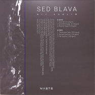 Back View : Sed Blava - NIT SUBLIM EP - Waste Editions / W09