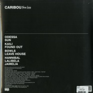 Back View : Caribou - SWIM (180g 2LP + MP3) - City Slang / Slang9550055