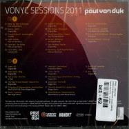 Back View : Paul Van Dyk - VONYC SESSIONS 2011 (2XCD) - Vandit Records / van2040